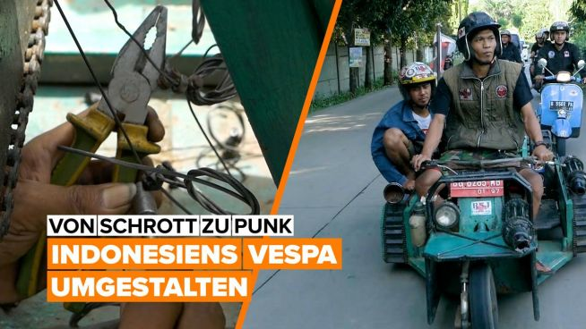 Extreme DIYers: Jakartas Vespa-Sensation