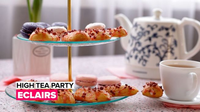 High Tea Party: Eclairs