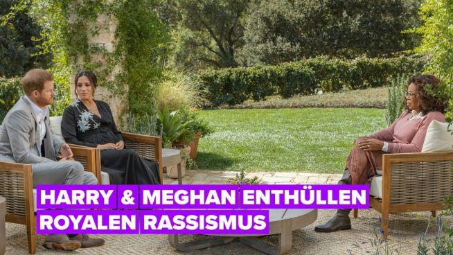 Die 3 größten Schocker aus Harry & Meghans Interview mit Oprah